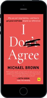 Cover of I Don't Agree by Michael Brown
