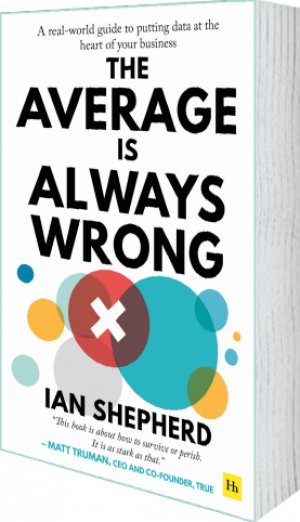 Cover of The Average is Always Wrong by Ian Shepherd