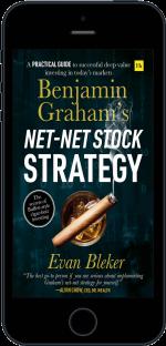 Cover of Benjamin Graham's Net-Net Stock Strategy by Evan  Bleker