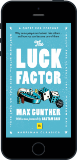 Cover of The Luck Factor (Harriman Classics) by Max Gunther
