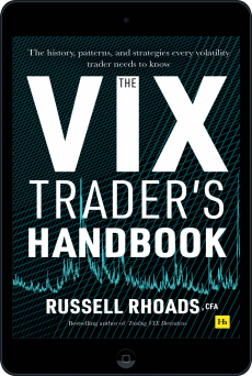 Cover of The VIX Trader's Handbook by Russell Rhoads