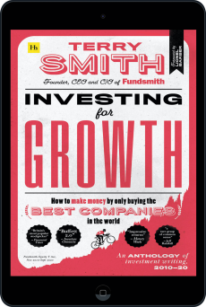 Cover of Investing for Growth by Terry Smith