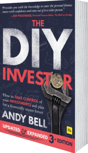Cover of The DIY Investor 3rd edition  by Andy Bell