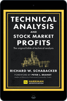 Cover of Technical Analysis and Stock Market Profits (Harriman Definitive Edition) by Richard Schabacker