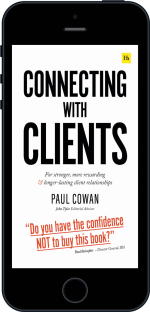 Cover of Connecting with Clients by Paul Cowan