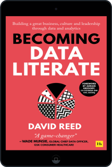 Cover of Becoming Data Literate  by David Reed