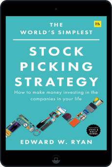 Cover of The World's Simplest Stock Picking Strategy by Edward W. Ryan