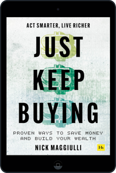 Cover of Just Keep Buying by Nick  Maggiulli