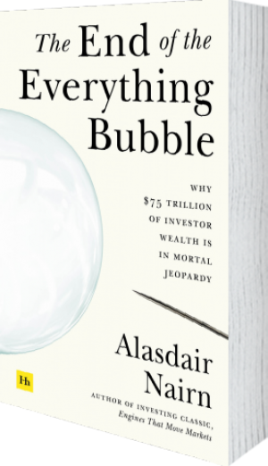 Cover of The End of the Everything Bubble by Alasdair Nairn