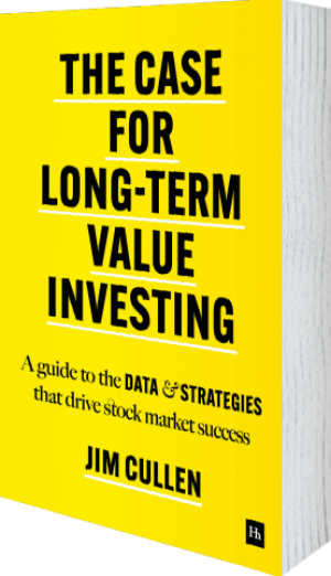 Cover of The Case for Long-Term Value Investing  by Jim Cullen