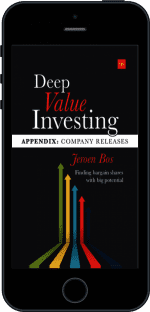 Cover of Deep Value Investing Appendix by Jeroen Bos