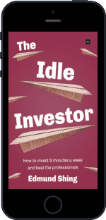 Cover of The Idle Investor by Edmund Shing