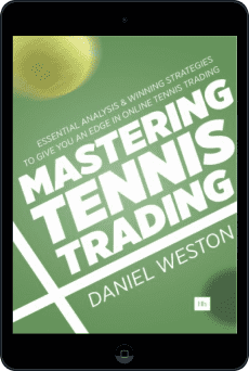 Cover of Mastering Tennis Trading by Daniel Weston