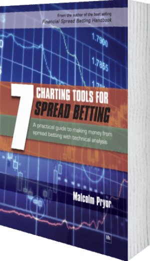 Cover of 7 Charting Tools for Spread Betting by Malcolm Pryor
